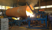 Manufacture of large diameter steel pipes for Fuel products