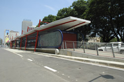 BRT trunk route station