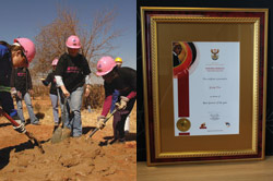 Women's Build - Department of Human Settlements initiative